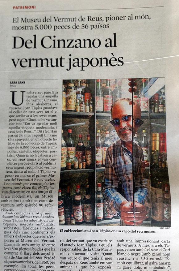 Del Cinzano al vermut japonès